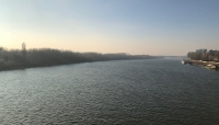 The mighty Danube.